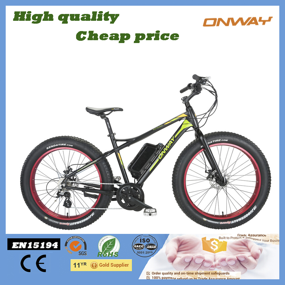 New Cool Hot Sale Bafang 36V 500W Central Motor Fat Tire Electric Bike Sale Promotion Price