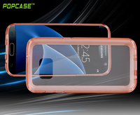 transparent back cover phone case for samsung galaxy s7