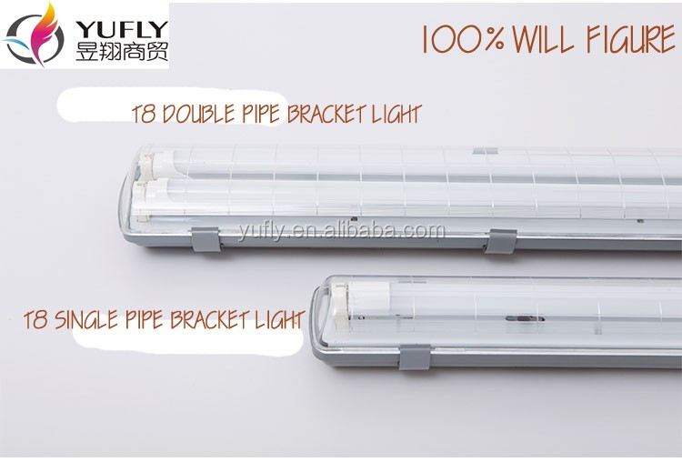 T8 2x36w T5 2x28w Ip65 Ip54 2x40w Waterproof Fluorescent