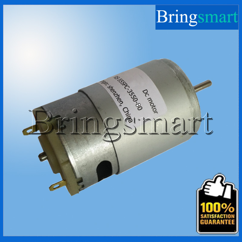 RS-555PC-3550-80 High rpm 12V DC Motor 4800rpm 24 Volt DC Geared Motor DC Electric Brush Motor High Precision