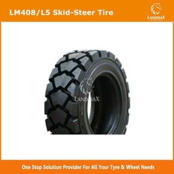 10-16.5 12-16.5 Deep Tread Skid Steer Loader Bobcat Tire