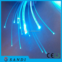 fiber light engine(LLE-003);led fiber optic kits, standard 6 colors, 12V, 250*0.75mm 3m long PMMA led fiber optic light