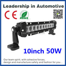 China factory direct Tuning lights 10inch off road cree led light bar cree 5w