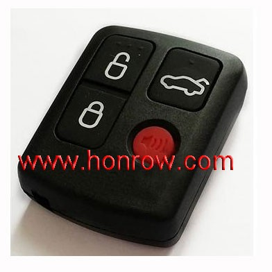 3+1 button remote key with 433Mhz/ car key Ford