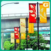 Street Banner/Hanging Banner Printing/Roadside Banners Advertising
