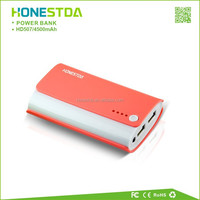 New Electric 4500mAh Portable Mobile Power Bank With LED Light