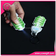 China LED giveaway PVC Key Finder, advertising giveaway for promotion, LED advertising keychain