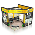 Detian Offer hot sale trade show display exhibition booth for rent