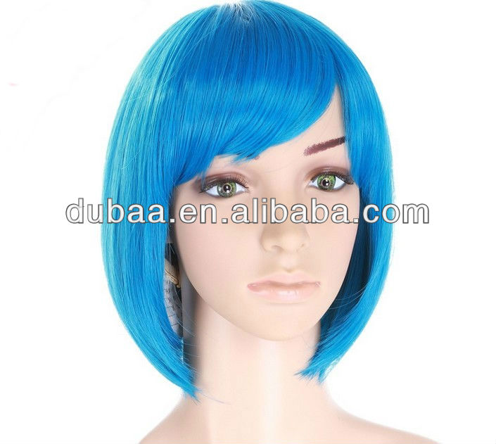 U-Shaped Wig,2014 Synthetic Front Lace Wig,Dubaa Fashion Artificial Hair