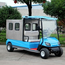 4 wheel electric car for delivery goods with cargo box