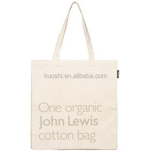 Canvas cotton tote bags 12oz china manufacture