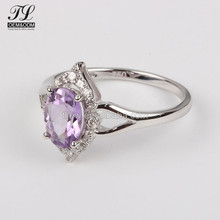 China Factory sale amethyst girls ring fashion jewelry vendors,fashion jewelry argentina