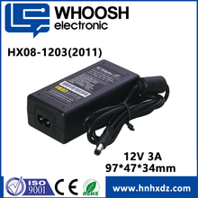 China product wholesale DOE Level 12V 3A AC DC Adapter Switching Power Supply
