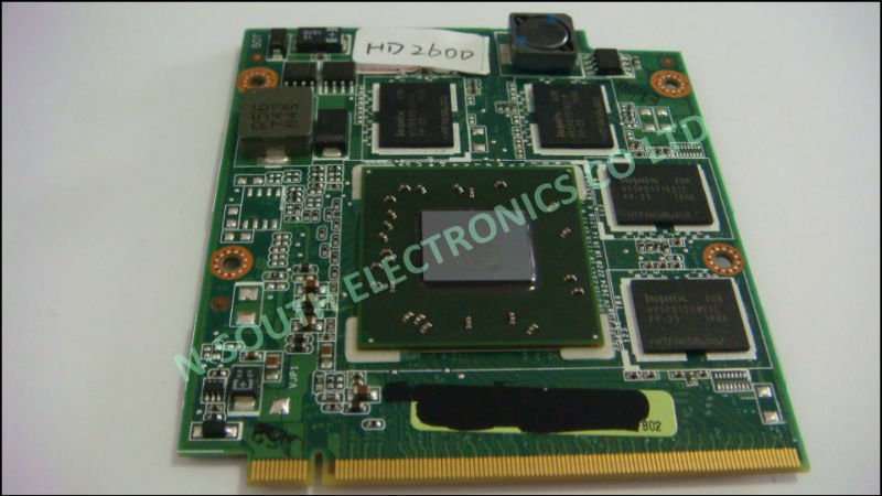 VGA card HD2600 512MB MXM ii DDR2 for ASUS ATI 216MJBKA15FG laptop graphic card