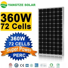 2017 hot sale 360W 36v mono solar panels for home use