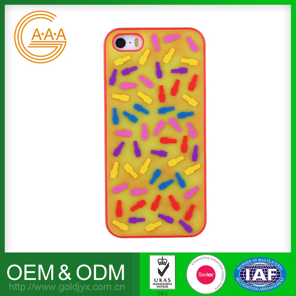 Popular Custom Oem Cell Phone Accessory Eco-Friendly Unique Design Silicone Phone Case For Iphone/Samsung/Others