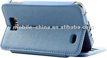wallet/pouch leather case for Samsung i9220 galaxy s2 note following samsung i9100 galaxy s2