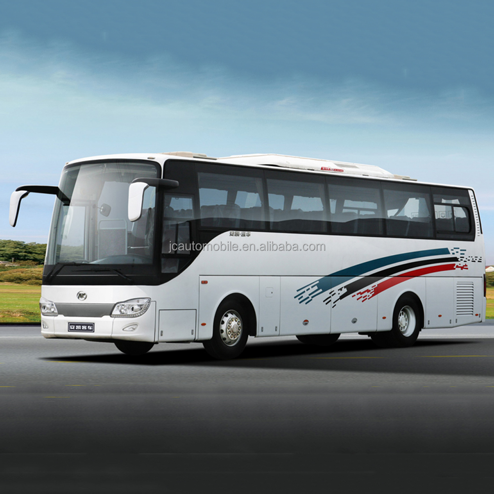 New bus colour design coach bus luxury 50 seater bus for sale