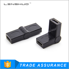 180 Degree HDMI Female To HDMI Female Adapter Coupler