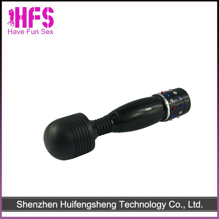Top Quality High Speeds Rechargeable Full Body Massager Wand Sex Toy