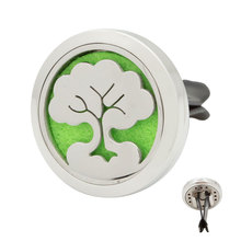 Wholesale Tree Pattern Custom Holder Clip Car Air Freshener, Perfume Essential Oil Car Diffuser