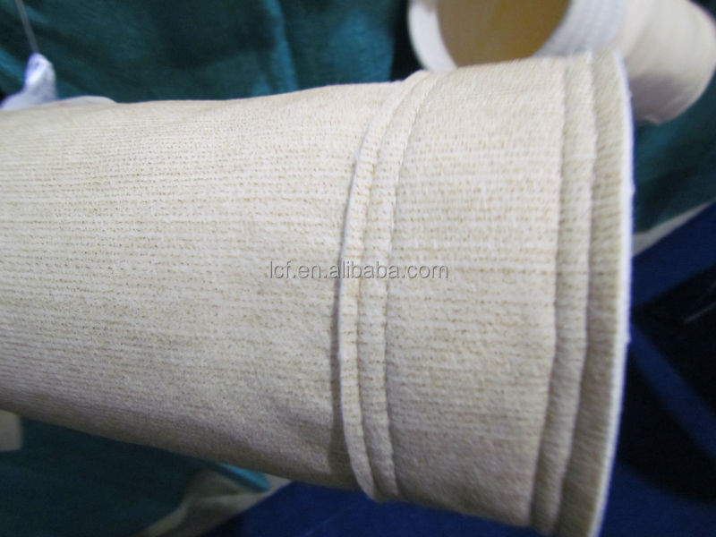 Factory supply Aramid dust collector filter bag for cement industry