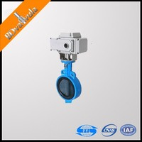motorised butterfly valve cast iron butterfly valve with good price
