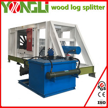 Professional supply automatic wood log splitter firewood processor