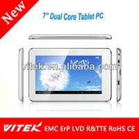 7'' RK3168 Dual Core Touch Tablet with WIFI