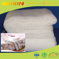 Cotton batting lining for home textile with 100% polyester fiber
