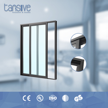 New design double glass cheap price of wall cabinets sliding doors
