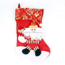 Stocking Gift Bags Christmas Hanging Decorative Ornaments, Santa Claus Cand Bags For Decoration
