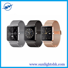Z50 Smartwatch Phone 2.5D IPS Screen MTK6260 Pedometer Sleep Monitor band changeable smart watch