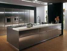 BSL731 kitchen stainless steel cabinet/ table sets