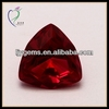 Hot Trillion Shape Synthetic Ruby Stone