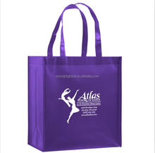 N037 Promotional item Non Woven Tote shopping Bag with custom logo