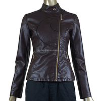 fashion designs leather jackets for women