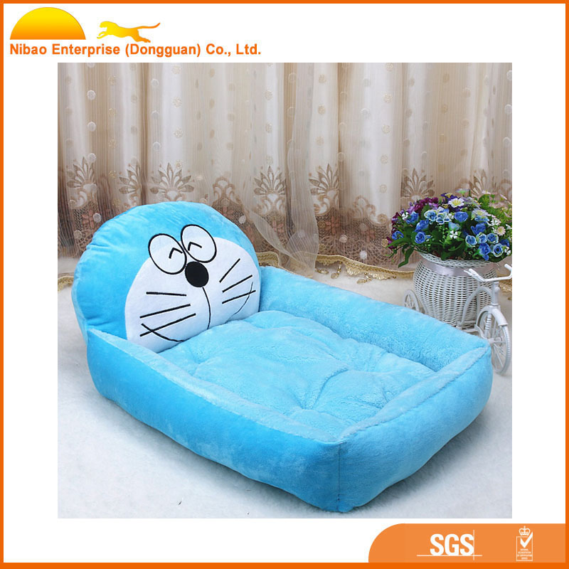 Fashion Customize Luxury Animal Shaped Pet Home Soft Dog Bed Plush Pet Bed