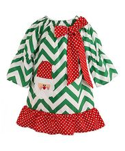 High quality christmas baby girl boutique clothing wholesale kids girls chevron and red polka dots applique clothes