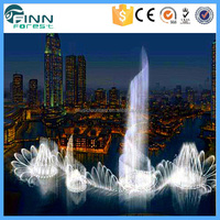 3D Circular Projection Laser Light Water Screen Show