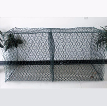 Factory price PVC coated Galvanized gabion box basket for sale