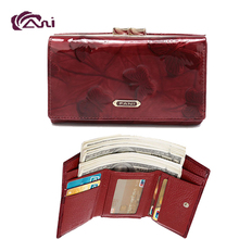 Fani New Arrival Wholesale Imperial Fine Leather Ladies Purse Wallet Woman