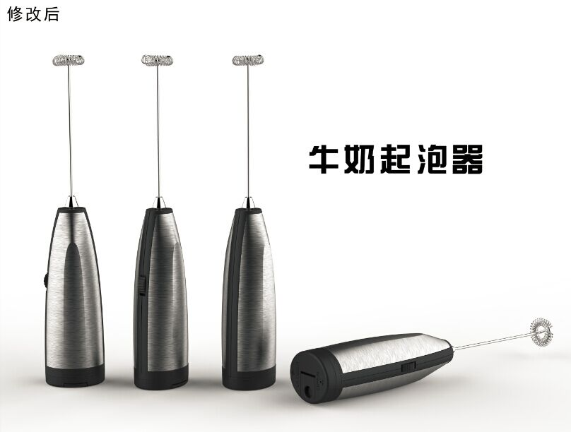 2016 new product stainless steel fashionable design electric milk frother, automatic milk frother