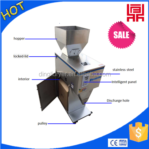 rock candy/powder aniseed filling packaging machinery auto weighing packer