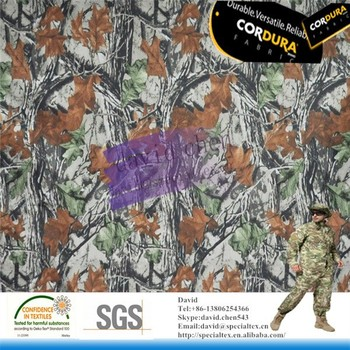 tear resistance cordura cheap camouflage fabric