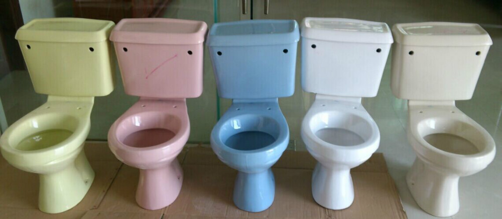 Sanitary Ware Two Piece Colored Toilet B1688 Buy