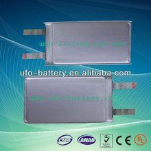 8000mAh 3.7V Lithium polymer battery for Hearing Aid/Dog Collar/emergency lighting
