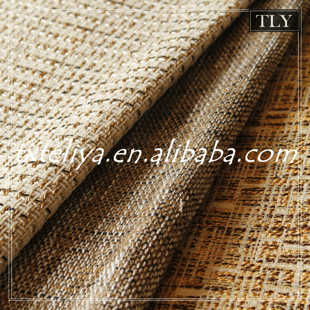 polyester flax hessian linen fabric