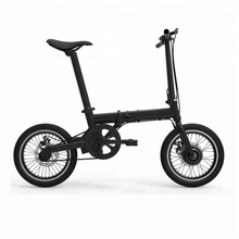 2018 mini folding electric bike 16 inch 36v 250w hidden battery foldable e bicycle bestseller ebike
