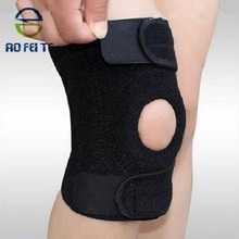 Manufacturer knee support brace with open patella with spring stays